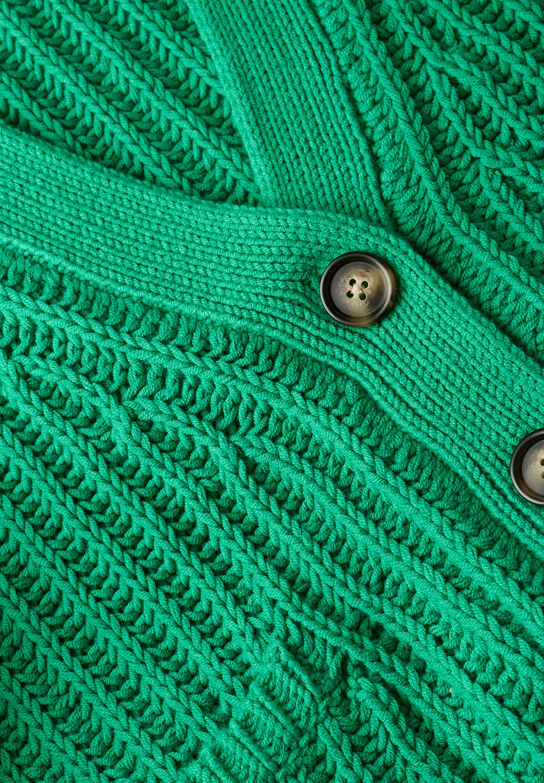 Bloom Strickjacke Mit Überschnittenen Schultern - Gilet Grass Green xVtEp7G
