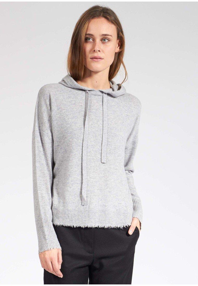Bloom - Hoodie - light grey