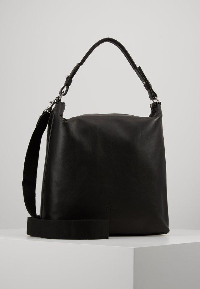 STOCKHOLM HOBO - Handväska - black