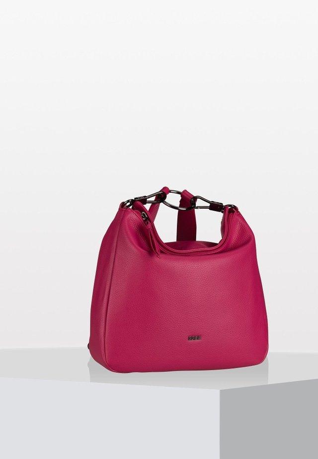 LIA   - Across body bag - berry