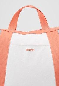 Bree - VARY BACKPACK - Plecak - grey/white/sunset - 5