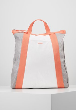 VARY BACKPACK - Plecak - grey/white/sunset