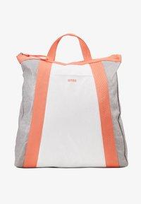 Bree - VARY BACKPACK - Plecak - grey/white/sunset - 4