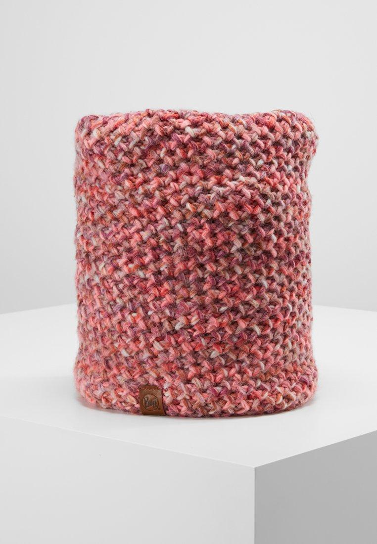 Buff - KNITTED POLAR NECKWARMER MARGO - Scaldacollo - flamingo pink