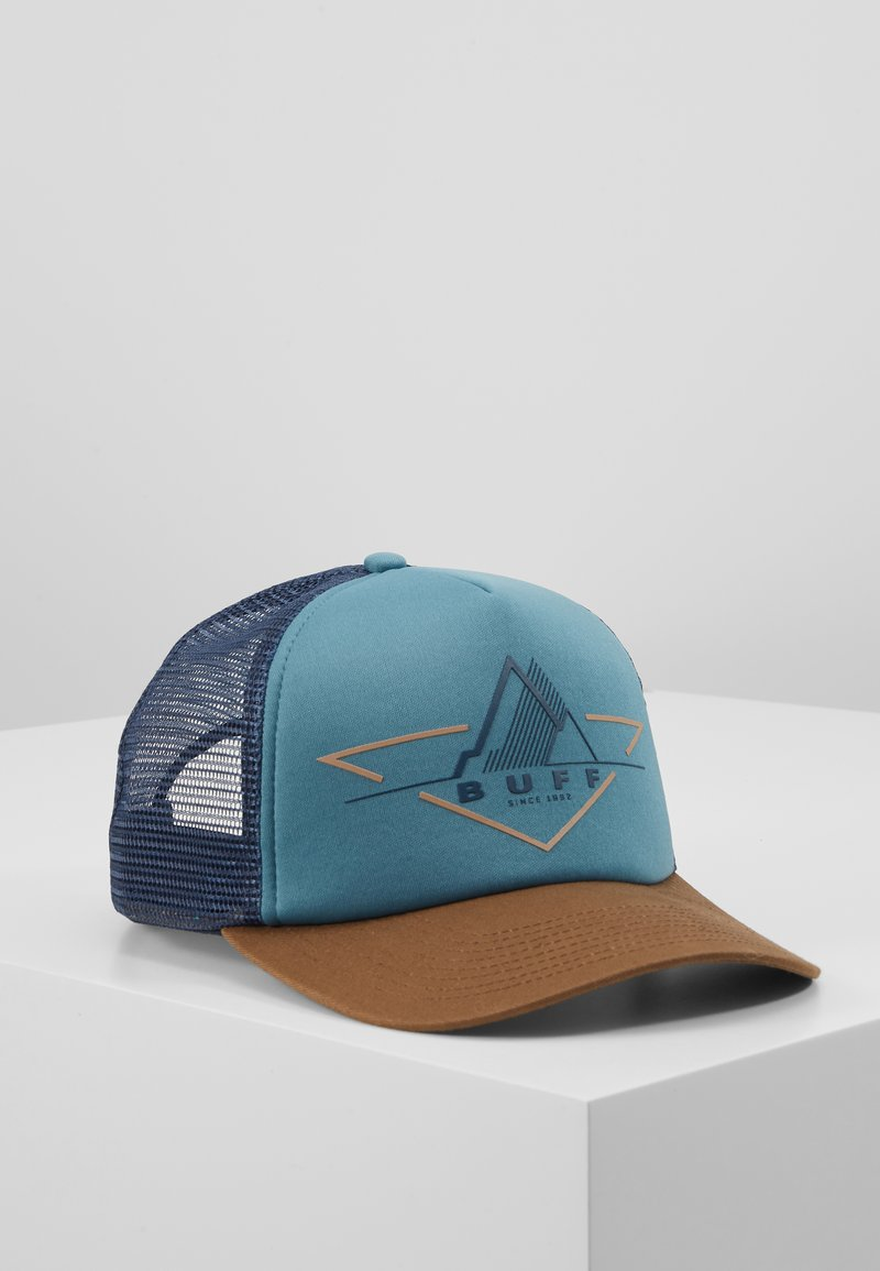 Buff - TRUCKER - Cap - brak stone blue