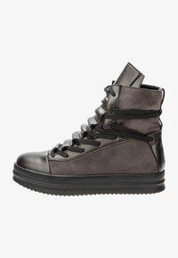 Betsy - Platform ankle boots - dark grey/black - 1