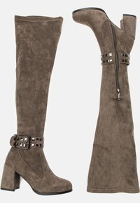 Betsy - Over-the-knee boots - grey - 3