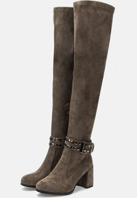 Betsy - Over-the-knee boots - grey - 2