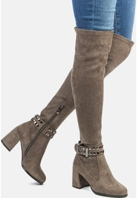 Betsy - Over-the-knee boots - grey - 0