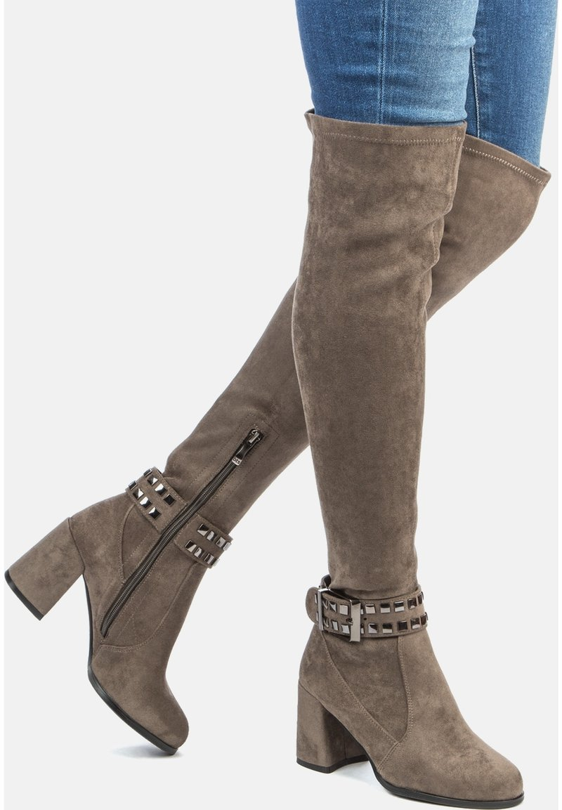 Betsy - Over-the-knee boots - grey