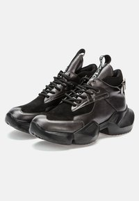 Betsy - Trainers - dark silver/black - 3