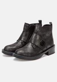 Betsy - Classic ankle boots - dark silver - 3