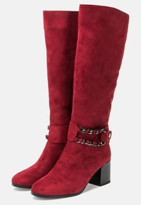 Betsy - High heeled boots - red - 3