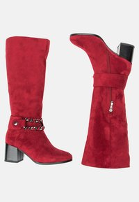 Betsy - High heeled boots - red - 2
