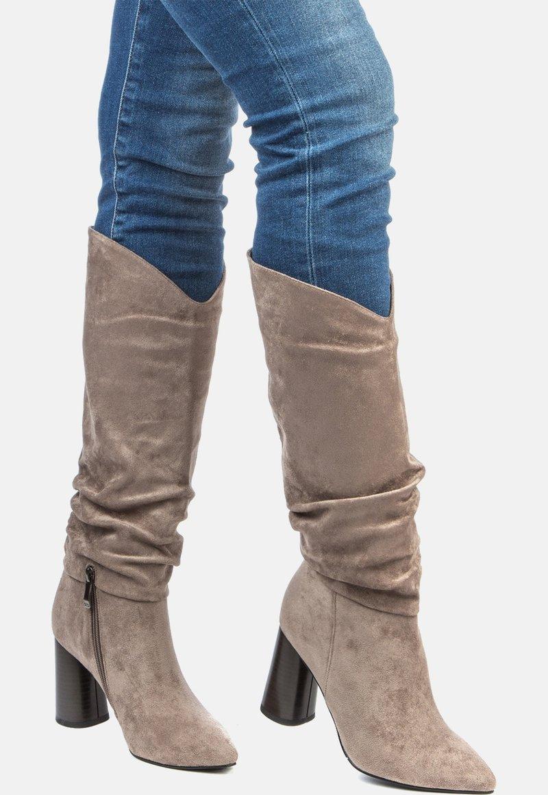 Betsy - High heeled boots - grey