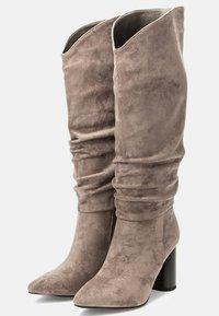Betsy - High heeled boots - grey - 3