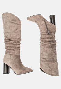 Betsy - High heeled boots - grey - 2