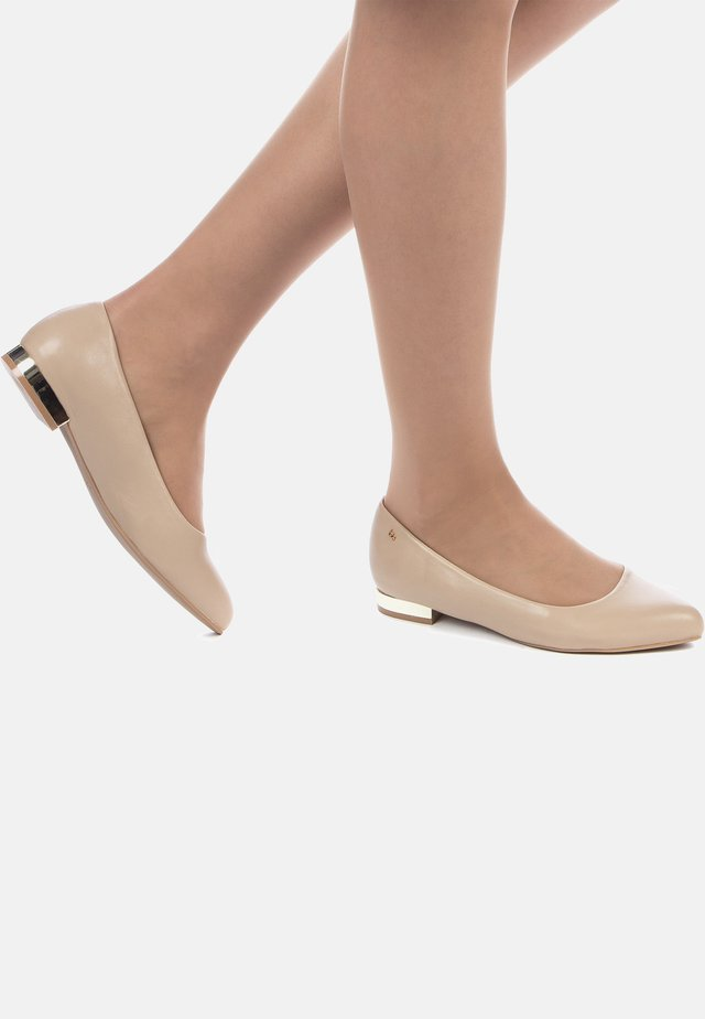 BALLERINES - Ballet pumps - beige