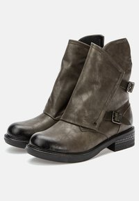 Betsy - Cowboy/biker ankle boot - khaki - 3