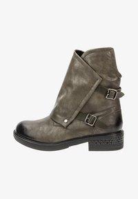 Betsy - Cowboy/biker ankle boot - khaki - 1