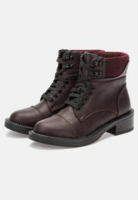 Betsy - Lace-up ankle boots - dark bordeaux - 3