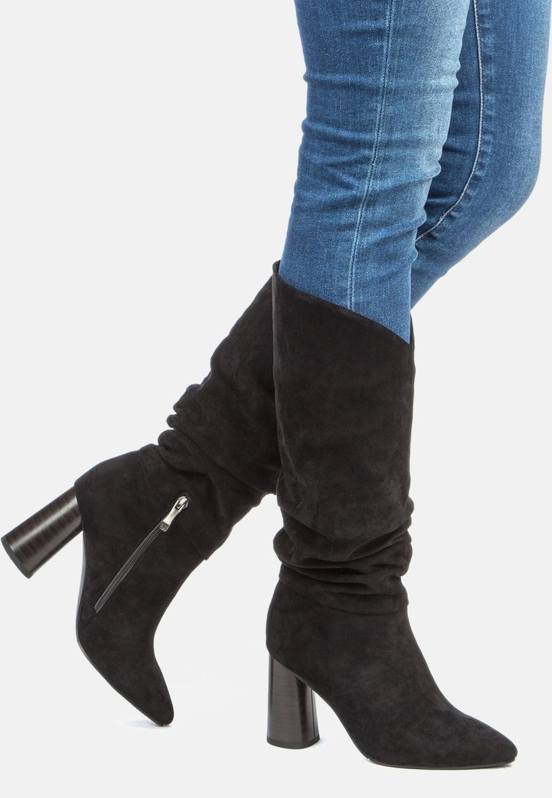 Betsy - High heeled boots - black