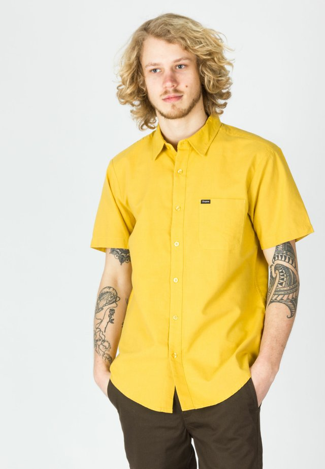 CHARTER OXFORD - Shirt - sunset yellow