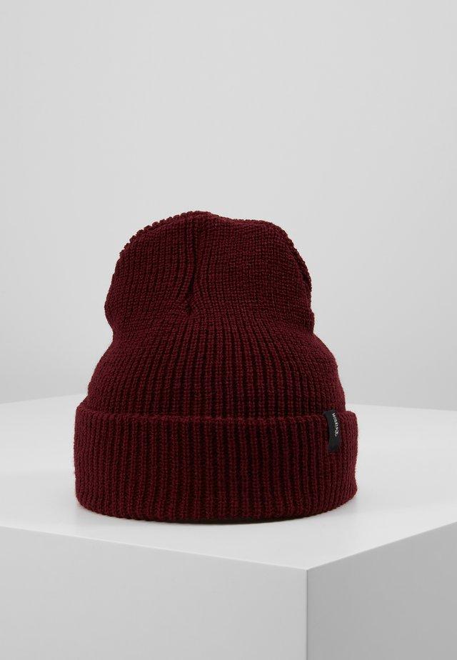 HEIST BEANIE - Bonnet - burgundy