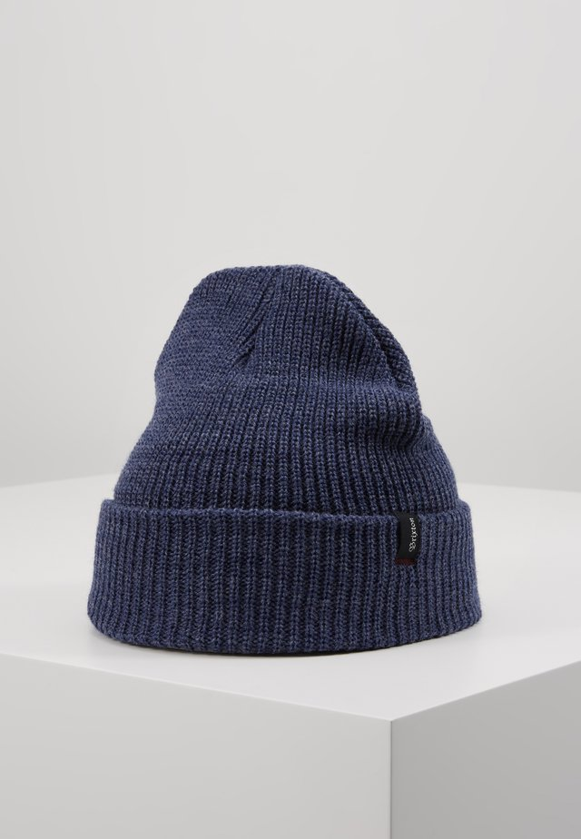 HEIST BEANIE - Gorro - blue denim