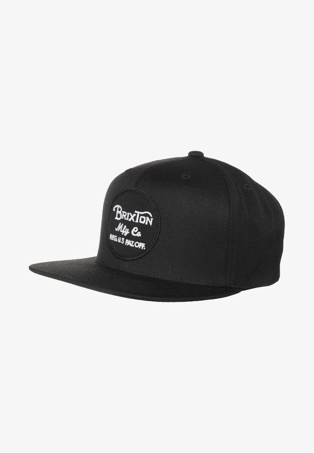 WHEELER SNAP BACK - Keps - black
