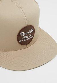 Brixton - WHEELER  - Cap - khaki - 5