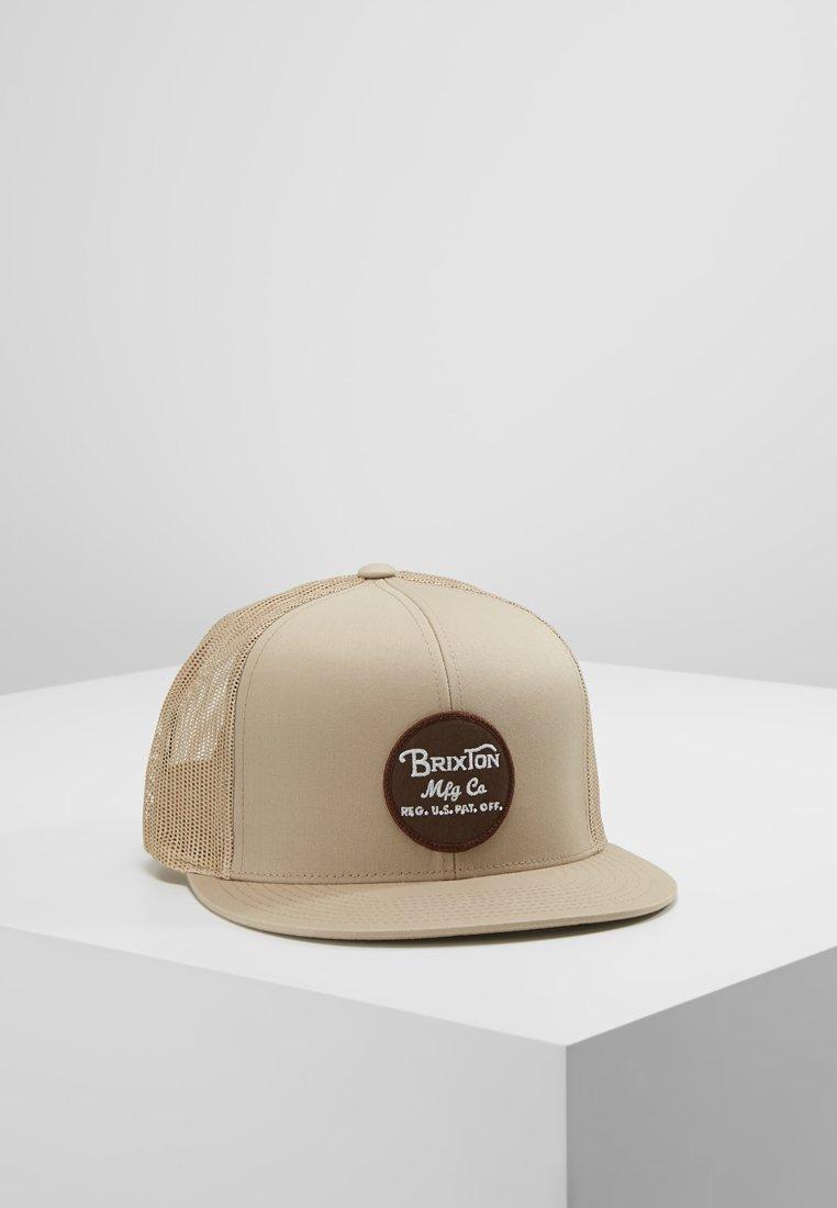 Brixton - WHEELER  - Cap - khaki