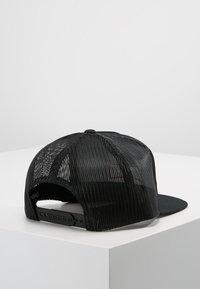 Brixton - WEDGE MESH CAP - Caps - black - 2