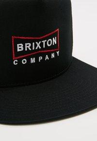 Brixton - WEDGE MESH CAP - Caps - black - 5