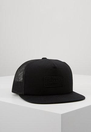 PALMER - Cap - tonal black