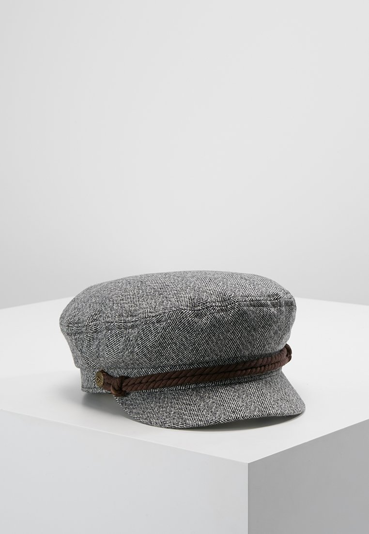Brixton - FIDDLER  - Cap - heather grey/cream