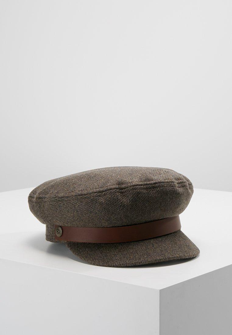 Brixton - FIDDLER  - Czapka z daszkiem - brown/grey