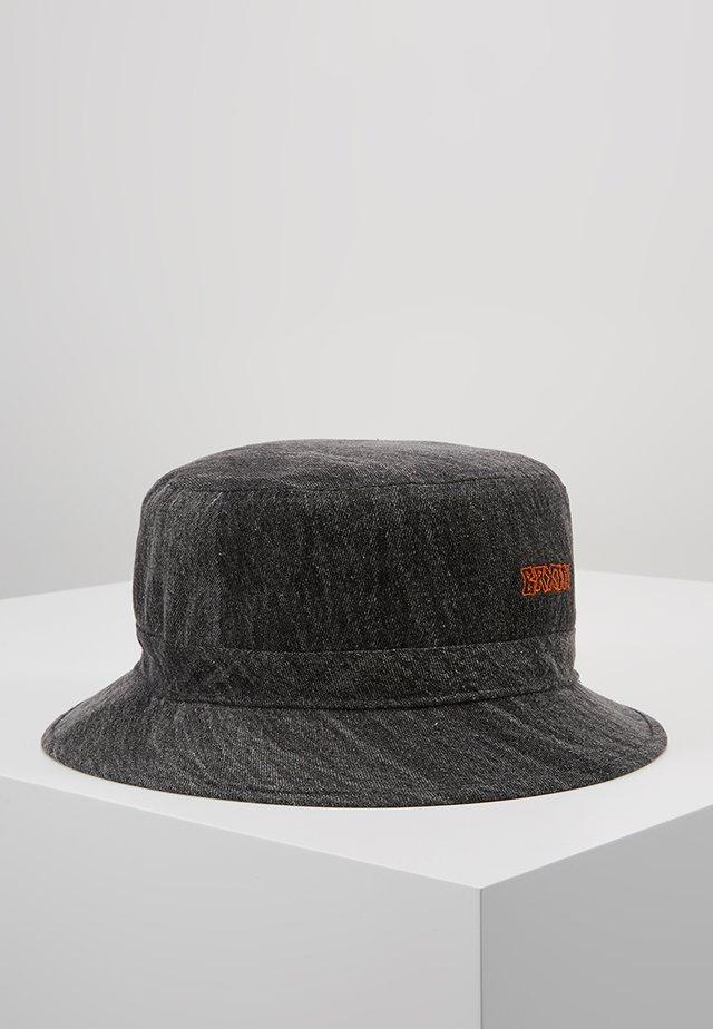 SIMMONS BUCKET - Hatt - black acid wash