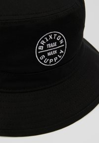 Brixton - OATH BUCKET - Hut - black - 5
