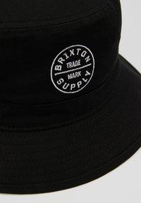 Brixton - OATH BUCKET - Cappello - black - 5