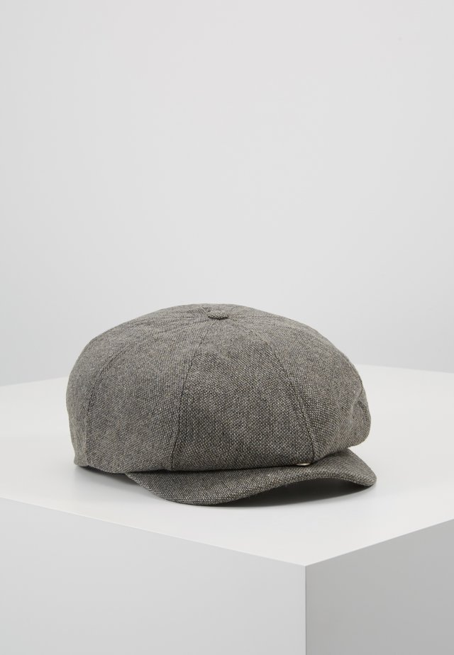 BROOD SNAP CAP - Mütze - grey/black