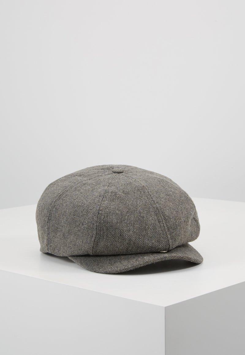 Brixton - BROOD SNAP CAP - Lue - grey/black