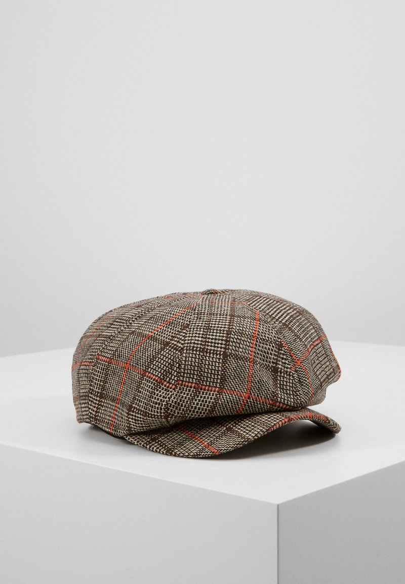 Brixton - BROOD SNAP CAP - Kapelusz - dark brown