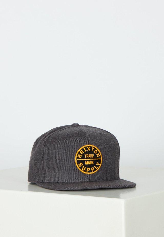 OATH - Cap - heather charcoal