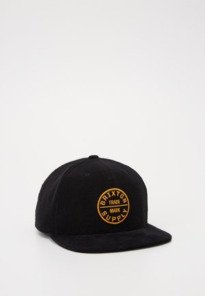 OATH SNAPBACK - Cap - black