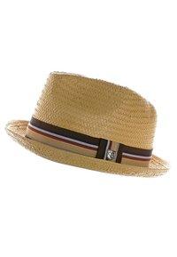 Brixton - CASTOR - Hat - tan straw - 0