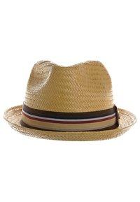 Brixton - CASTOR - Hat - tan straw - 1
