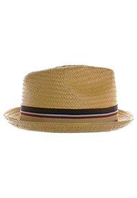 Brixton - CASTOR - Hat - tan straw - 2