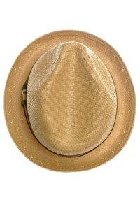 Brixton - CASTOR - Hat - tan straw - 3