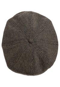 Brixton - BROOD - Czapka - brown/khaki herringbone - 2